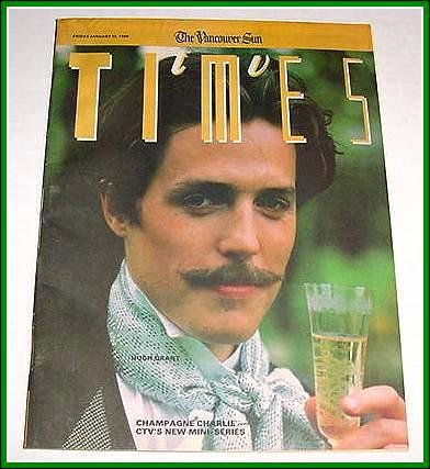 TV Times January 13, 1989 Hugh Grant A MARTINEZ Candice Bergen