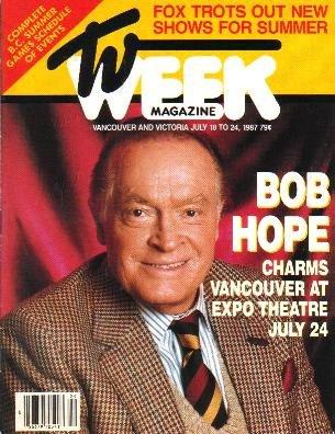 TV WEEK July 18, 1987 BOB HOPE COVER Jack Nicklaus