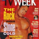 TV Week April 10, 1999 THE ROCK 1 of 2 Covers
