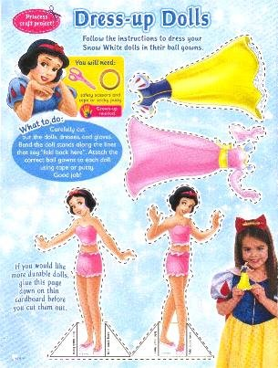 DRESS-UP DOLLS Magazine Paper Dolls