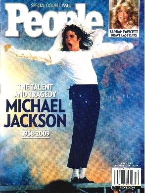 PEOPLE WEEKLY MAGAZINE Special Double Issue July 13, 2009 MICHAEL JACKSON