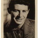 EDDIE FISHER Signed 3½ x 5½ Black & White Press Photo