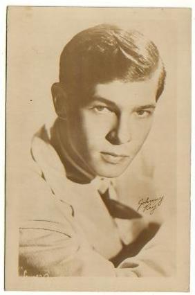 JOHNNY RAY (JOHNNIE) Signed 3½ x 5½ B&W Press Photo
