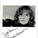 BRENDA VACCARO Signed 8x10 Black & White Press Photo