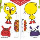 CHIRP'S DRESS-UP DOLL Double-Sided Magazine Paper Dolls