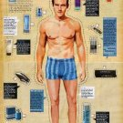LOOK GOOD NAKED Magazine Paper Doll & Accessories 2 PAGES