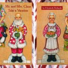 MR. & MRS. CLAUS TAKE A VACATION Magazine Paper Dolls 2 PAGES