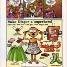 DIAPER Magazine Paper Dolls & Zoo Crew Comic Strip 4 PAGES