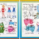 THE BLESSING TWINS Magazine Paper Dolls by Jenny Lynn 2 PAGES