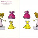 HABILLE LA PRINCESSE Double-Sided Magazine Paper Dolls