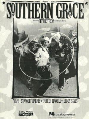Southern Grace LITTLE TEXAS Sheet Music 1994 PHOTO!