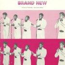 YOU MAKE ME FEEL BRAND NEW Sheet Music THE STYLISTICS 1974