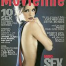 MOVIELINE MAGAZINE February 1999 Catherine Zeta-Jones ABSOLUT CLEVELAND New Copy