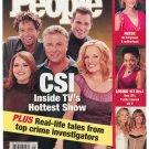 People Weekly Magazine October 14 2002 CSI Reese Witherspoon GOLDIE HAWN & KATE HUDSON