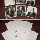 "BOB HOPE PRESS KIT Photos Bios Folder & 36-Page ""The World of Bob Hope"" Book 70s"