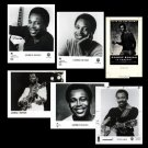 GEORGE BENSON Camera Ready Artwork and 5 8x10 Glossy Black & White Photos
