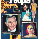 People Weekly Magazine December 24, 1979 THE 25 MOST INTRIGUING PEOPLE OF 1979