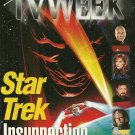 TV WEEK MAGAZINE December 12, 1998 Star Trek Insurrection