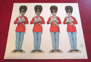 Alfred Jacobsen's Grenadier Soldiers National Museum of Denmark 1977 Reprint