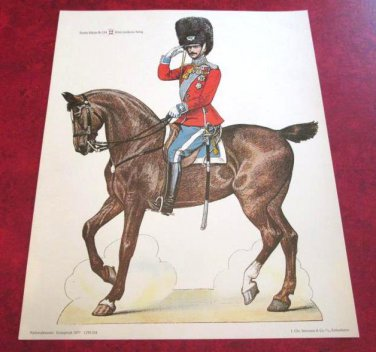Alfred Jacobsen's Grenadier Soldiers National Museum of Denmark 1977 Reprint