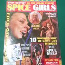 SPICE GIRLS MAGAZINE 1999 Bagged/Unopened UNCUT Sporty Spice PAPER DOLLS Mel C