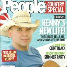 PEOPLE COUNTRY SPECIAL June 2008 KENNY CHESNEY At Home With Clint Black