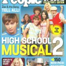 PEOPLE SPECIAL COLLECTOR'S EDITION Summer 2007 HIGH SCHOOL MUSICAL 2 Zac & Gang