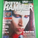 METAL HAMMER MAGAZINE August 1999 MARILYN MANSON Premiere Issue NEW SEALED COPY!