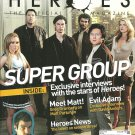 HEROES MAGAZINE #5 August/September 2008 EXCLUSIVE INTERVIEWS WITH THE STARS