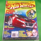 HOT WHEELS MAGAZINE Spring 2007 MEGAPOSTER Cool Cars AWESOME GAMES Batmobile