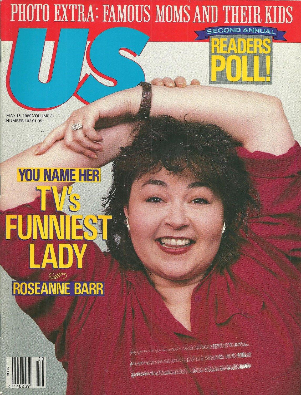 US MAGAZINE May 15, 1989 ROSEANNE BARR Vanessa Williams LYNDA CARTER Peter Falk