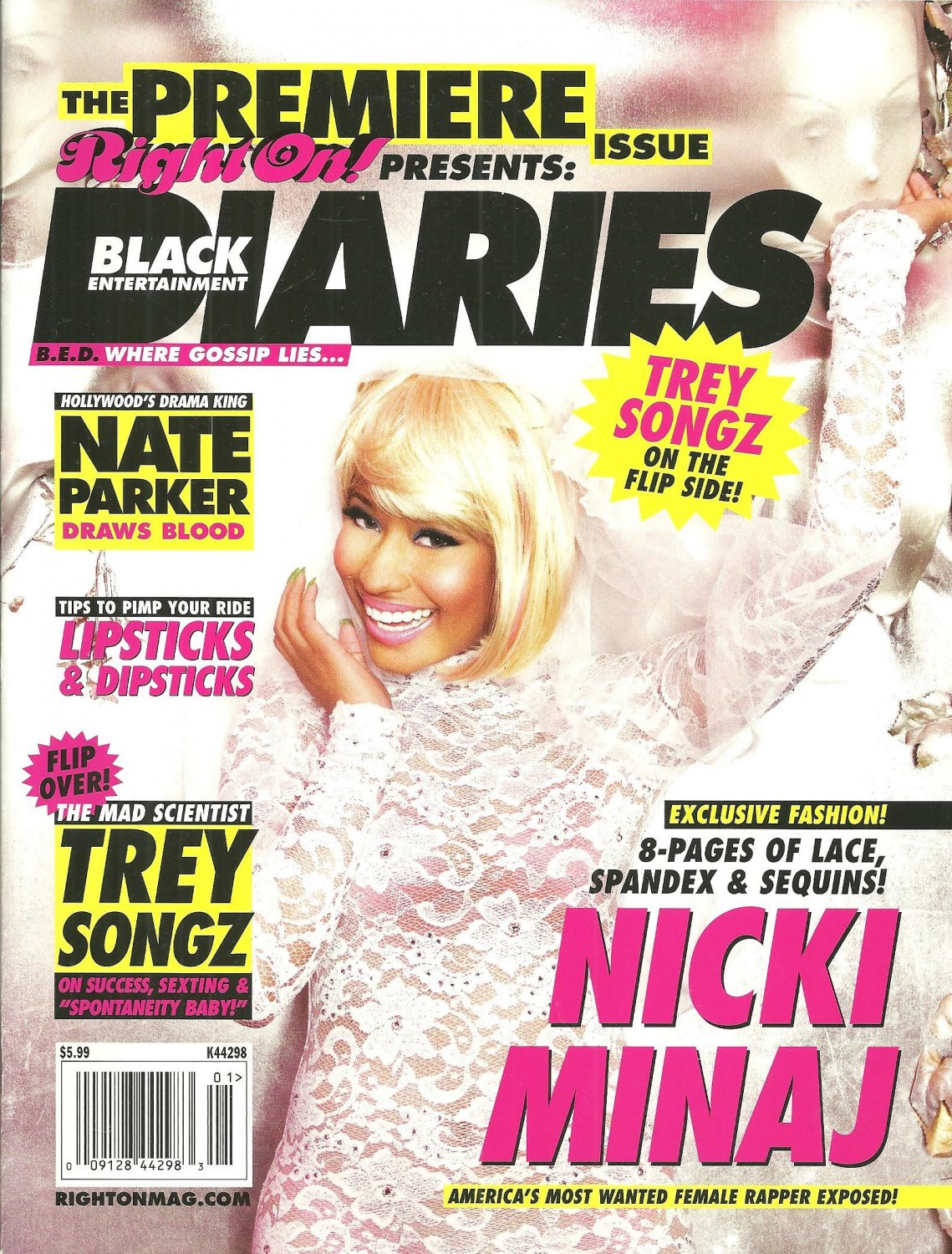 Right On! Presents BLACK ENTERTAINMENT DIARIES MAGAZINE Premiere Issue 2004
