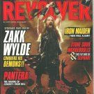 REVOLVER MAGAZINE September/October 2010 ZAKK WYLDE Iron Maiden NEW SEALED COPY!