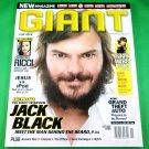 GIANT MAGAZINE Premiere Issue October/November 2004 JACK BLACK Jessica Biel