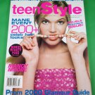 teenStyle Magazine DOUBLE PREMIERE ISSUE February/March 2000 MANDY MOORE New!!!