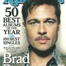 ROLLING STONE MAGAZINE Double Issue #1068/1069 December 25, 2008 BRAD PITT New!