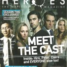 HEROES THE OFFICIAL MAGAZINE 100-Page Premiere Issue #1 December/January 2008
