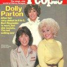 PEOPLE WEEKLY MAGAZINE January 19, 1981 DOLLY PARTON Lily Tomlin JANE FONDA
