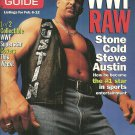 TV GUIDE MAGAZINE February 6-12, 1999 WWF RAW STONE COLD STEVEN AUSTIN New Copy!