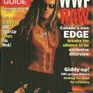 TV GUIDE MAGAZINE February 6-12, 1999 WWF CANADA'S OWN EDGE New Copy!