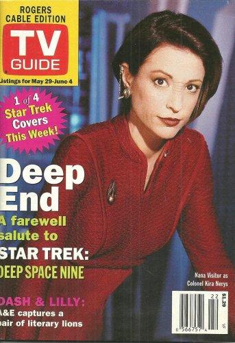 TV GUIDE MAGAZINE May 29 to June 4, 1999 STAR TREK NANA VISITOR New Unread Copy!