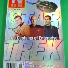 TV GUIDE MAGAZINE May 18-24, 2002 STAR TREK THE CAPTAINS OF ENTERPRISE New Copy!