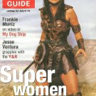TV GUIDE MAGAZINE July 8-14, 2000 SUPER WOMEN XENA LUCY LAWLESS New Unread Copy