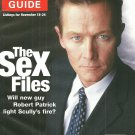 TV GUIDE MAGAZINE November 18-24, 2000 X-FILES' ROBERT PATRICK New Unread Copy!