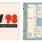 THE ROLLING STONES Original November 1, 1989 Vancouver Canada Concert Ticket