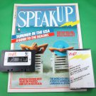 SPEAK UP MAGAZINE & CASSETTE June 1988 MORRIS WEST Jane Glover BRIAN O'NOLAN