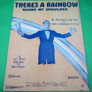 THERE'S A RAINBOW 'ROUND MY SHOULDER Piano/Vocal/Guitar/Uke Sheet Music JOLSON