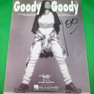 GOODY GOODY Piano/Vocal/Guitar Sheet Music LISETTE MELENDEZ © 1993