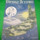 VIENNA DREAMS Vintage Piano/Vocal/Guitar Sheet Music TOMMY CHRISTIAN © 1937
