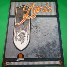 BYE-LO Original Vintage Piano/Vocal Sheet Music © 1919